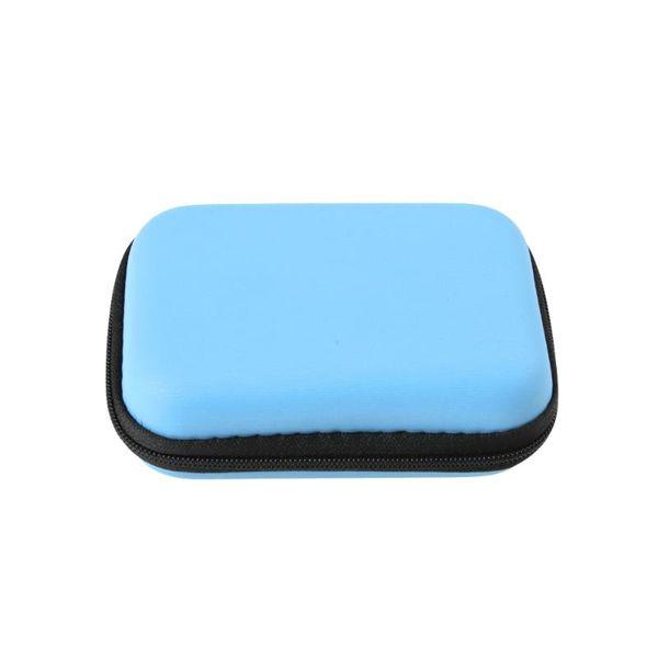 Nur blaue Tasche