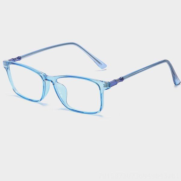 C06-trasparente blu chiaro frame