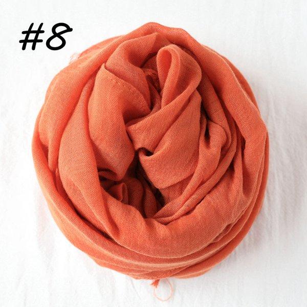 8 de naranja