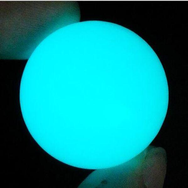 6mm Light Blue Luminous
