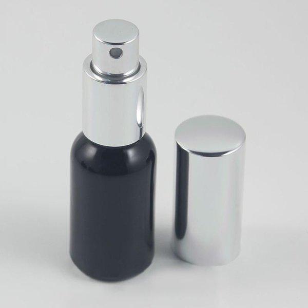 30ml Noir Vaporisateur en verre