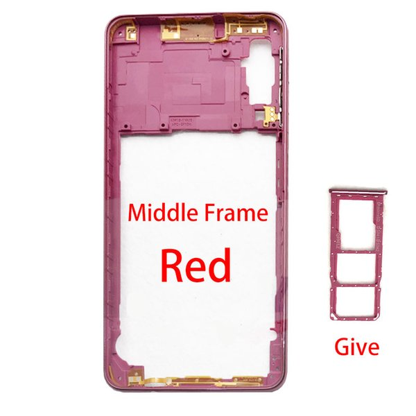 A750 Red-Middle frame sim