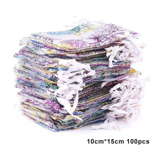 100pcs 10x15-blanco