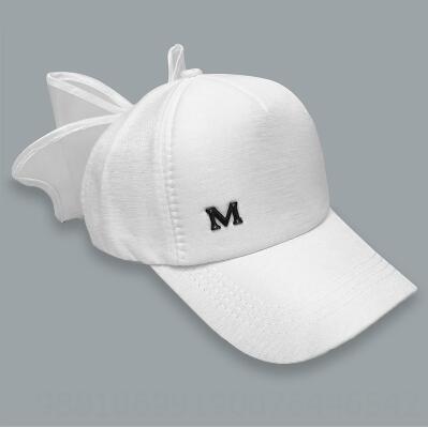 Sombrero Blanco Blanco Mariposa-adulto