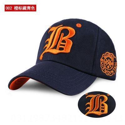 002 Orange Label Navy Blue