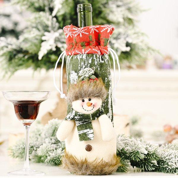 Şarap Şişesi Kapağı Kardan Adam