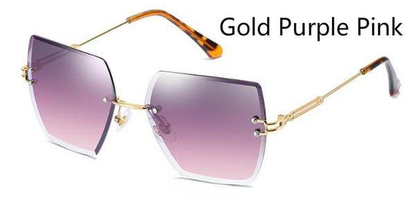 Oro rosado púrpura