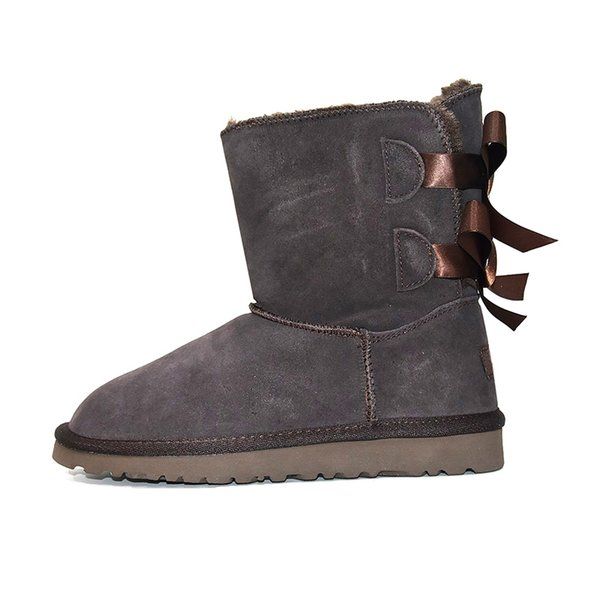Ankle 2 Bow - Brown