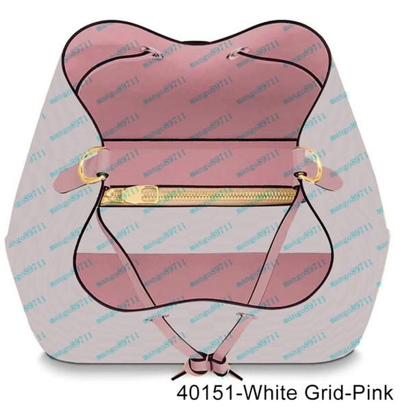 40151-White Grid-Rosa
