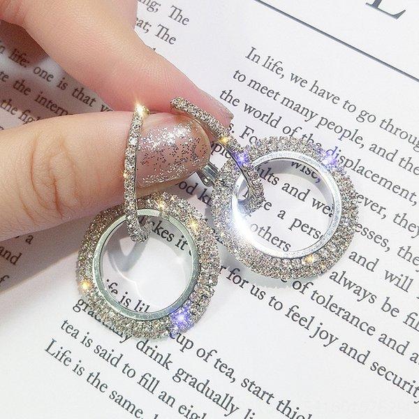 E1211 Silver Circle-Silber-Nadel