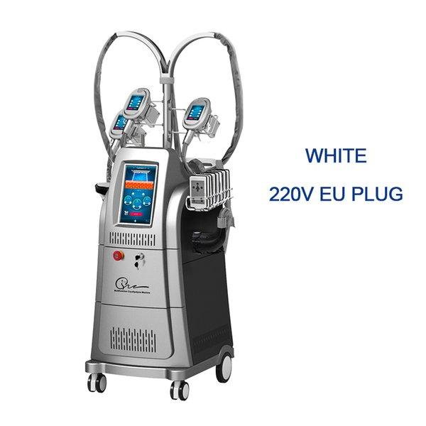 Enchufe blanco de la UE 220V