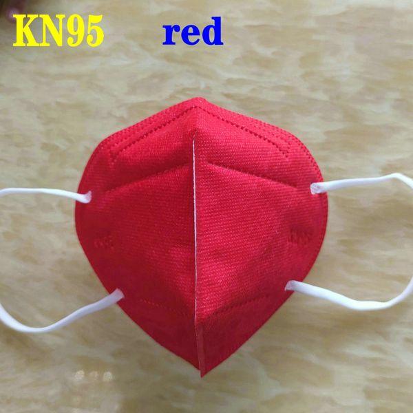 Красный KN95 взрослых