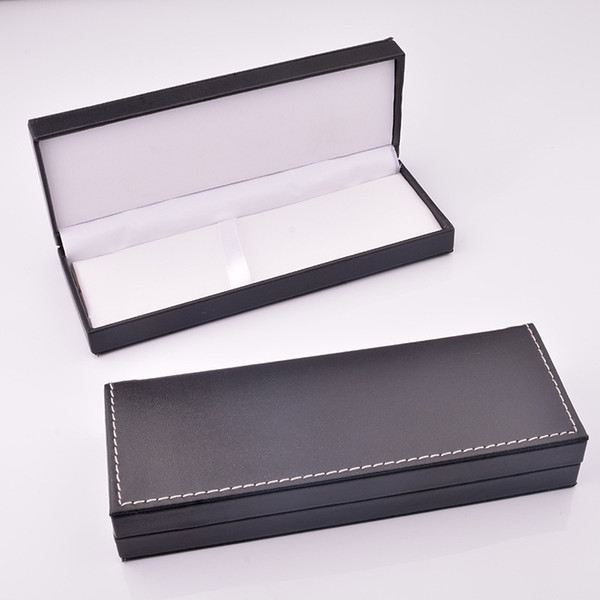 best selling Pu Leather Pencil Box Gift Box Packaging Business Gift Pen Case Accept Custom Logo [diy Logo>50]