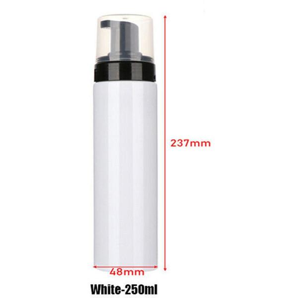 250ml di plastica bianca