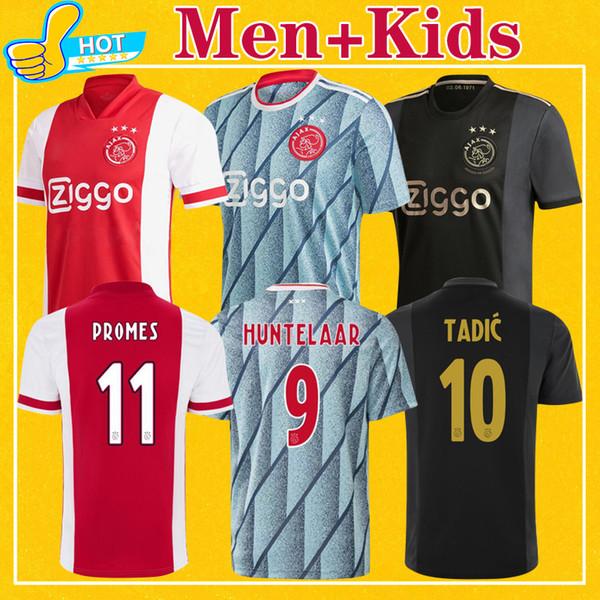 top popular ajax Men Kids Kit 2021 Home Away Third 50th Anniversary maillot AJAX Soccer Jersey NOURI PROMES 20 21 TOP quality Football Shirt 2020