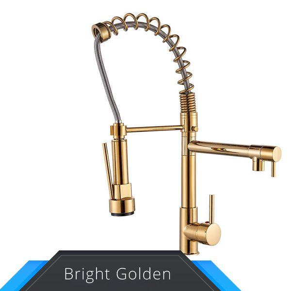 faucet dourado