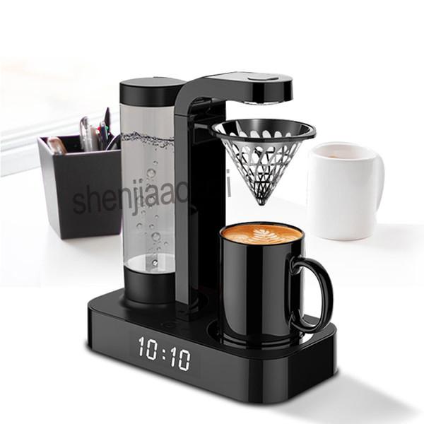 1pc Household Coffee machine Clock automatic American drip office mini coffee pot machine Hand punch coffee machine 220v 600w Brand Name : LZHZXY Capacity (Cup) : <5 cups Function : Hand punch coffee machine Voltage (V) : 220V/50hz Type : Hand punch coffee machine Certification : CE Power (W) : 600W