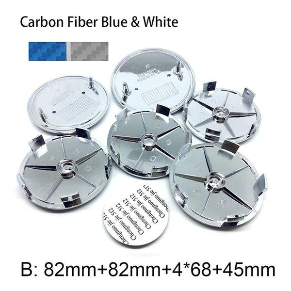 Karbon Mavi Beyaz B