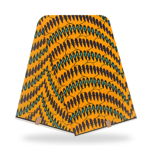 best selling New African Fabric Pure Cotton Fabric Print For Party Dress pagnes africain wax