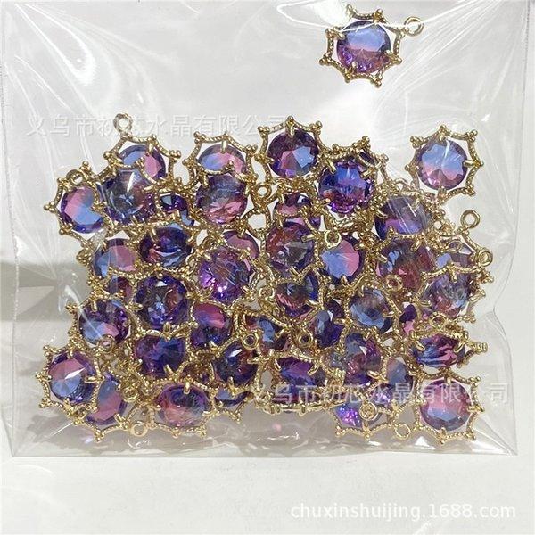Azul y púrpura-8mm (Bare Piedra)