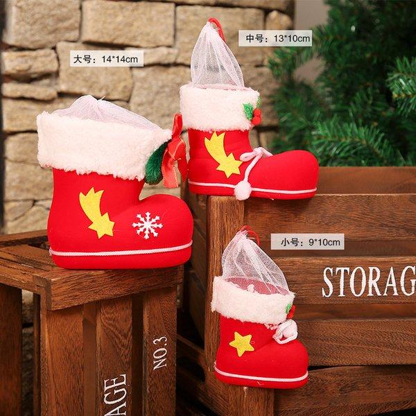 Stivali grande regalo di Natale (singolo)