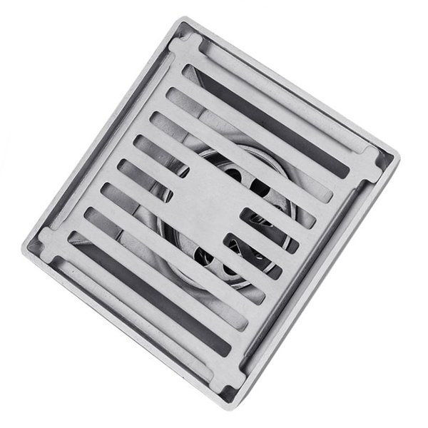 best selling Stainless Steel Floor Drain Square Bathroom Wet Room Shower Trap for 50~75mm
