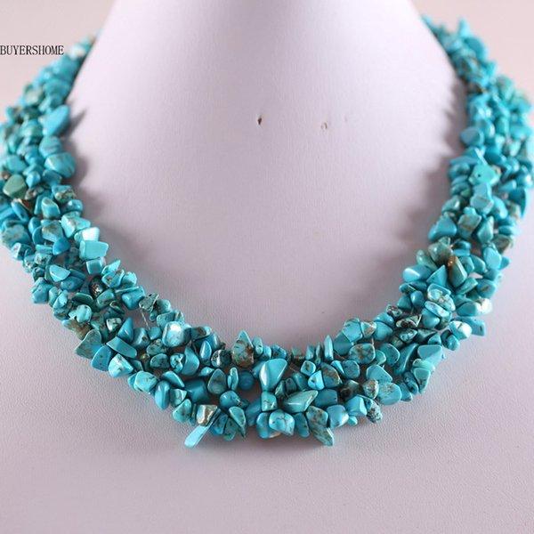Turquoise Turquoise Multi 45cm