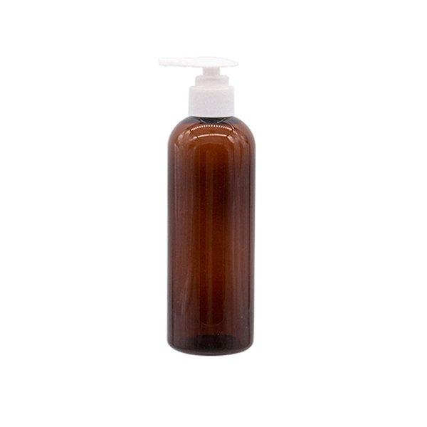 Botella de plástico blanco de Brown 300ML