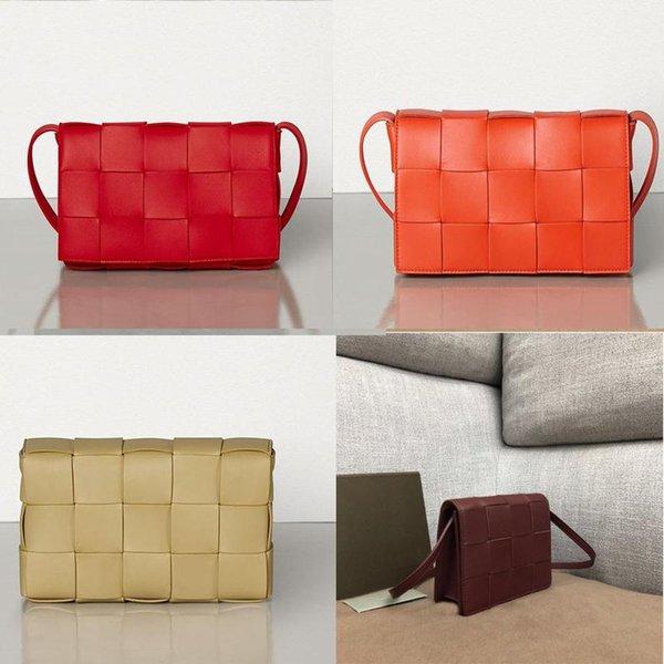 top popular 2020Top Quality The Pouch Soft Weave Calfskin Ladies Clutch Bag Handbag Fashion crossbody women Tote Bag MQZo# 2020