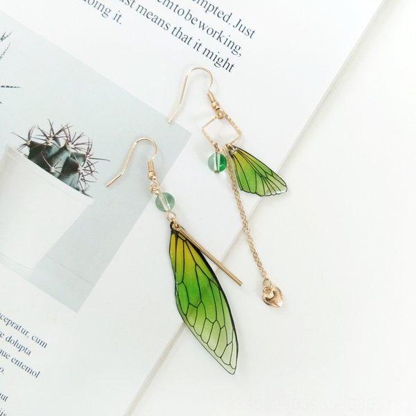 Пара Зеленый уха Крючки