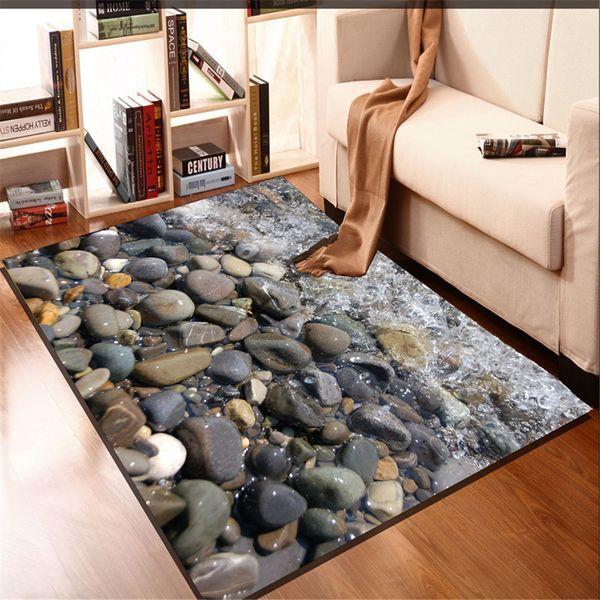 Río y la piedra