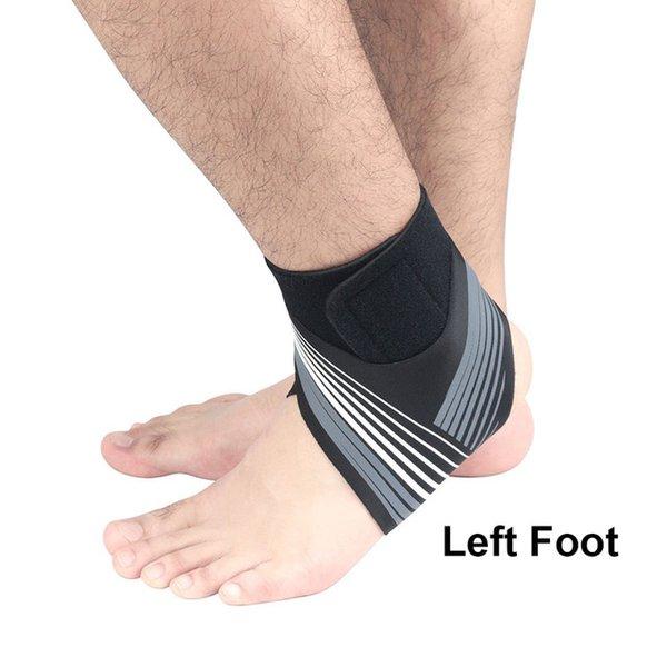 Gris - pie izquierdo