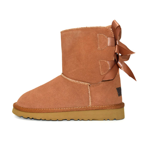 Ankle 2 Bow - Khaki