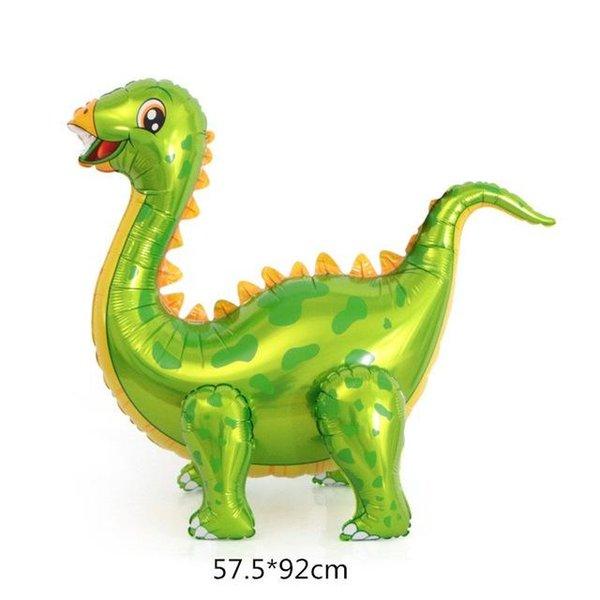 yeşil stegosaurus