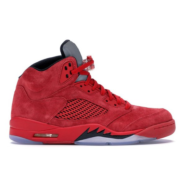 4 Red Suede