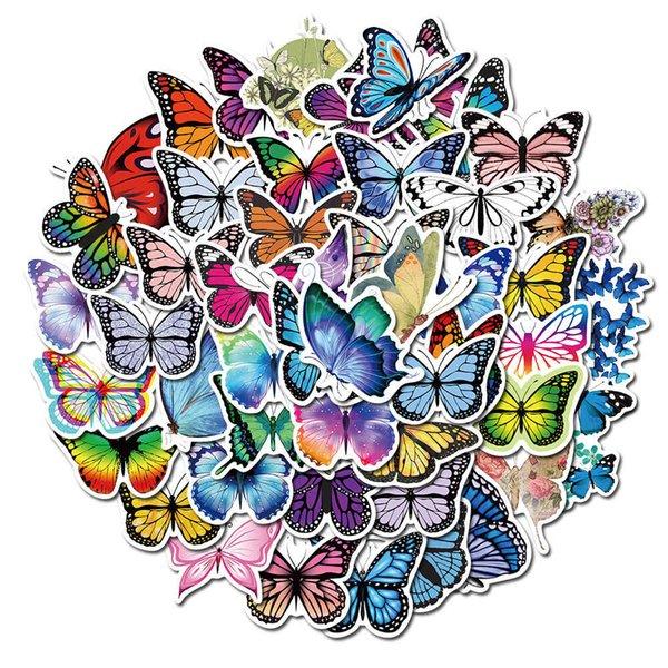 50Pcs Schmetterling