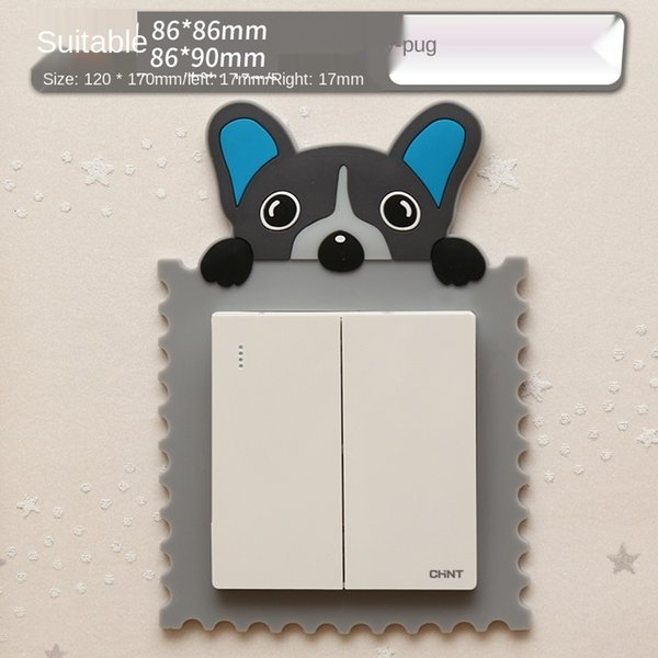 Gray Pug-Suitable for