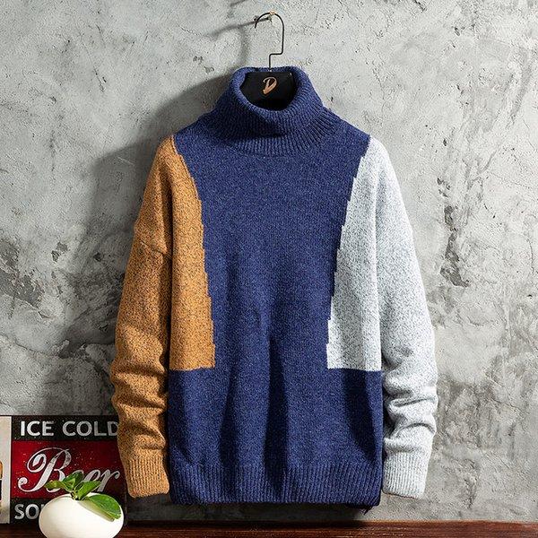 Синий свитер Мужчины