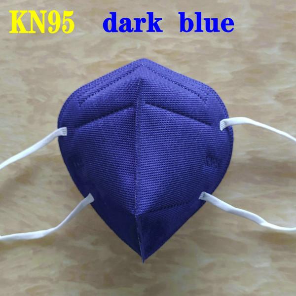 Темно-синие взрослые KN95