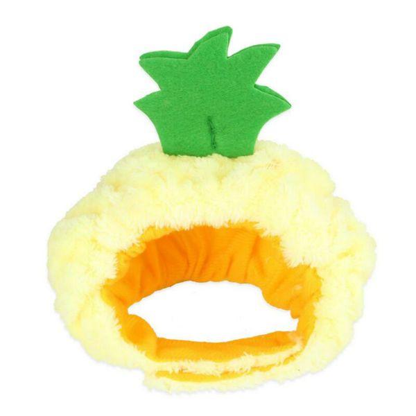 J : 파인애플 모자
