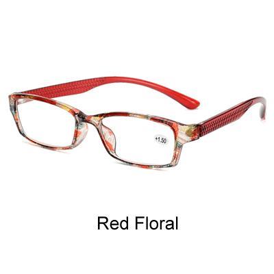 Floral rojo