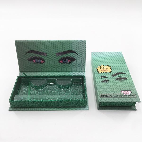 caja vacía verde