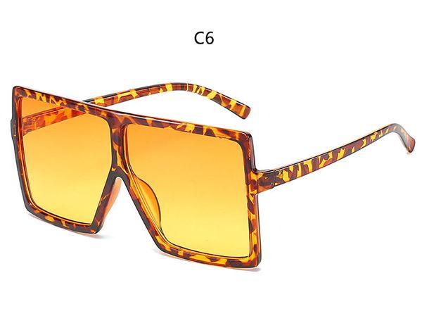 C6 leopard yellow