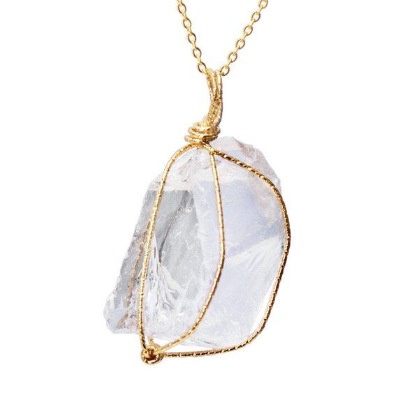 55 centímetros cristal branco