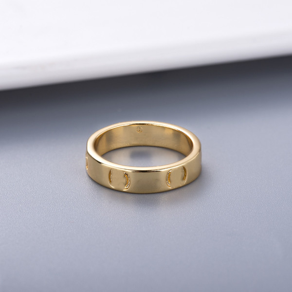 top popular New Style Couple Ring Personality Simple for Lover Ring Fashion Ring High Quality Silver Plated Rings Jewelry Supply 2021