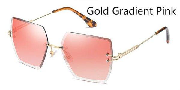 Gradiente de oro rosa