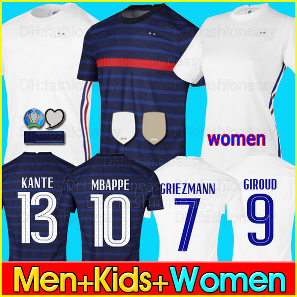 top popular 2020 2021 world cup maillot jersey MBAPPE GRIEZMANN POGBA 20 21 Soccer jersey maillot de foot maillots de football shirt men + kids 2020