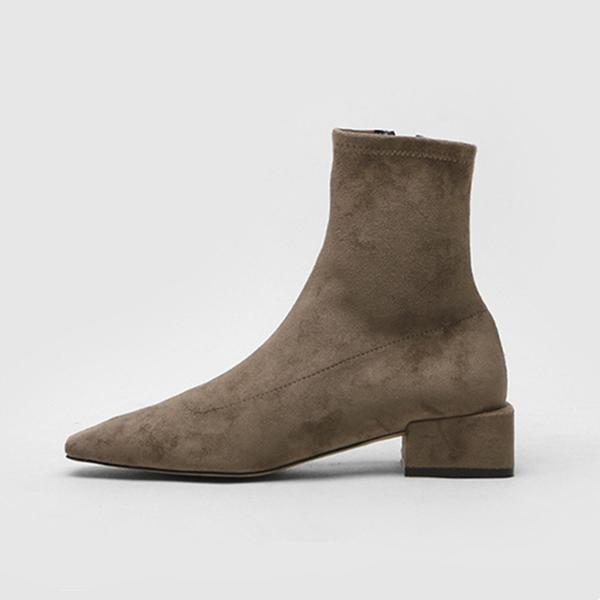 Абрикосовые ботинки