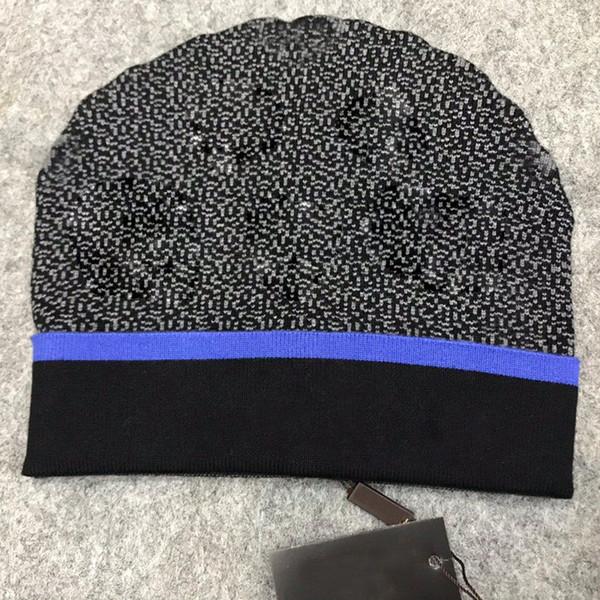 best selling 21ss men designers hats bonnet winter beanie knitted wool hat plus velvet cap skullies Thicker mask Fringe beanies hats