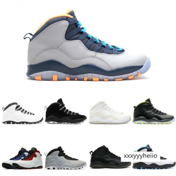 top popular 20 Basketball shoe 10s I'm back cool grey infrared fusion red venom Powder Blue men Sports Sneakers 40-47 2021